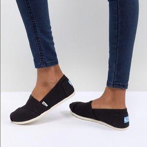Toms Black Slides
